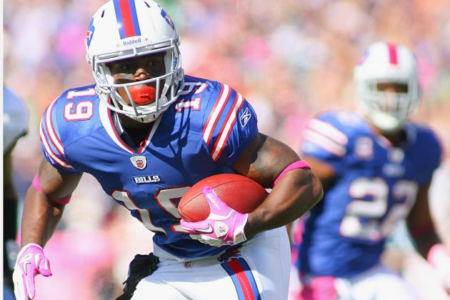 Buffalo Bills: Who Has the Edge for No. 2 Wide-Receiver Position?