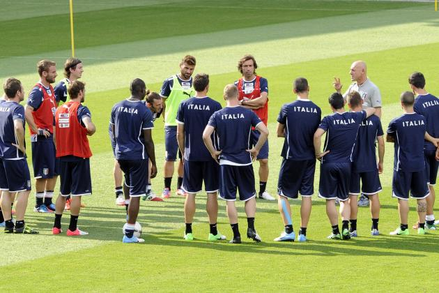 Italy's Keys to Knocking England out of Euro 2012