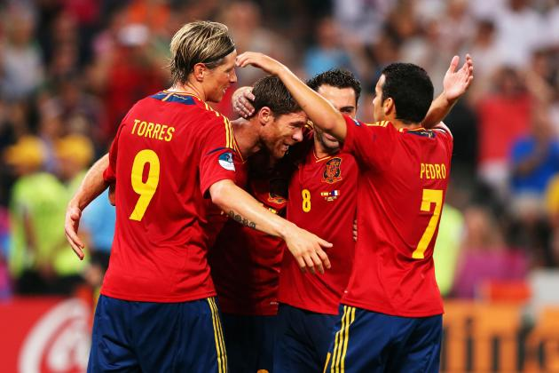 Spain vs. France: Scoring the Key Duels in Euro 2012 Quarterfinal