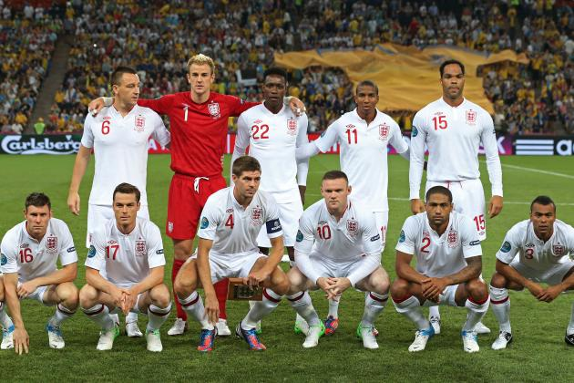 England vs. Italy: Predicting Both Starting Lineups for Euro 2012 Quarterfinal
