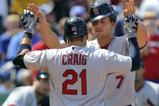 St. Louis Cardinals: 10 Signs They've Ignited the Struggling Offense