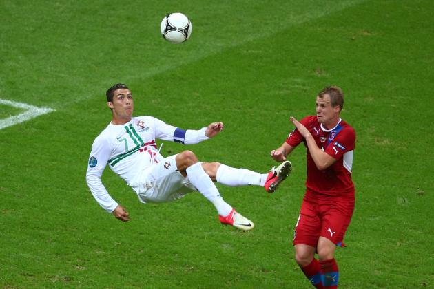 Cristiano Ronaldo, Real Madrid Stars Dominating Euro 2012
