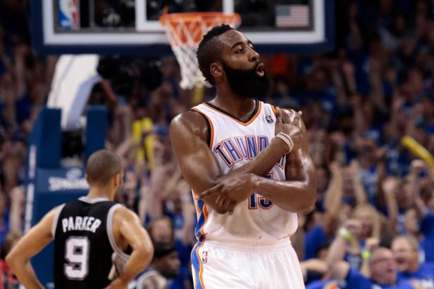 James Harden and 5 Players Who Weren't Ready for Spotlight in 2012 Postseason