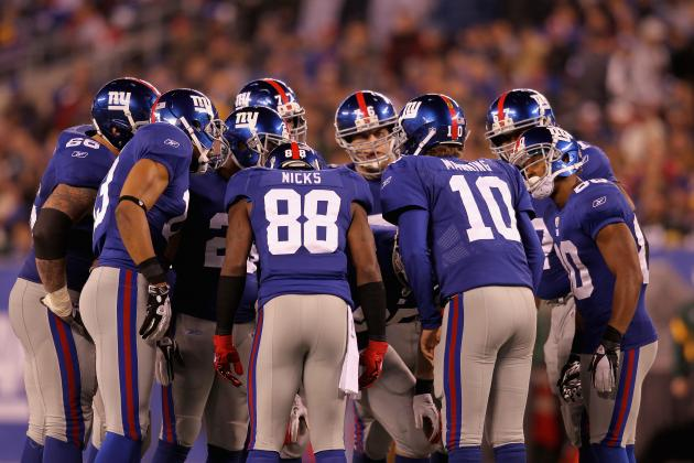 Predicting Statistics for Each New York Giants Offensive Starters in 2012