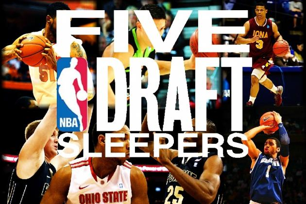 2012 NBA Mock Draft: 5 Draft Sleepers Who Will Be Stars in the NBA