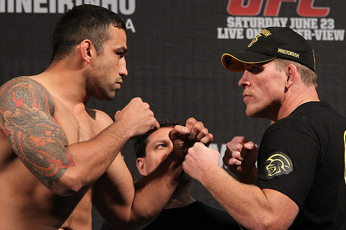 UFC 147 Results: Top 10 Heavyweights in the UFC