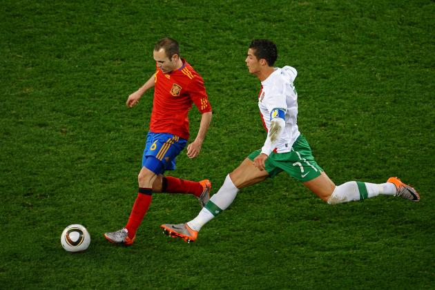 Euro 2012 Semifinal: 5 Key Battles to Watch in Spain vs. Portugal Clash