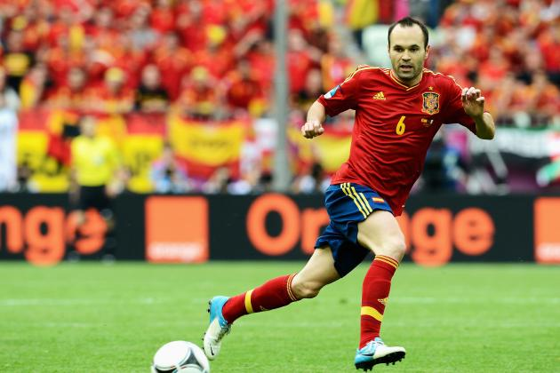 Euro 2012: Ranking Barcelona's Players Thus Far