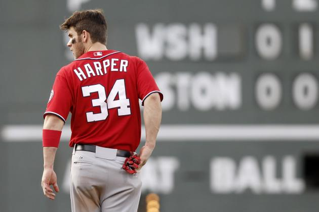 Bryce Harper: 10 Things We Learned About the Nats' Phenom in Interleague Play