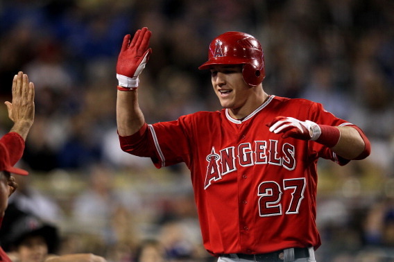 AL MVP Rankings: Angels Rookie Mike Trout Making a Strong Push for Top Spot
