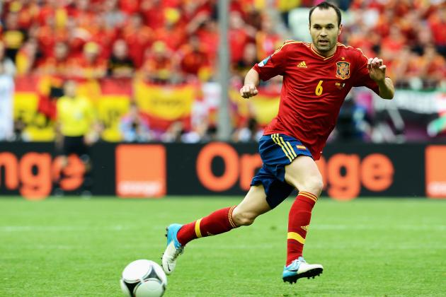 Euro 2012: Why Andres Iniesta Has Been the Best Player at the Tournament