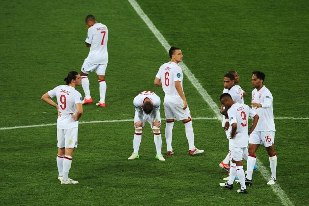 Rating England's Players at Euro 2012