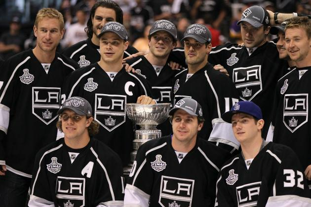 Los Angeles Kings: 2011-2012 Top-Six Forwards Season Grades