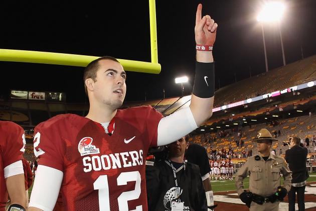 Oklahoma Football: 5 Goals Sooners QB Landry Jones Must Set for Himself