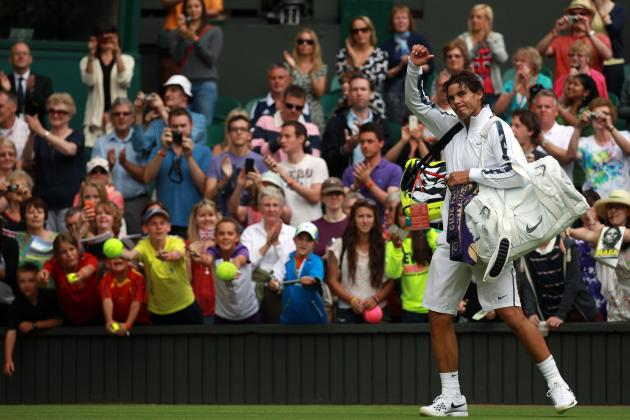 Wimbledon 2012 First Round: Winners and Losers from All-England Tennis Club