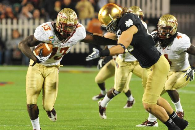 Ranking Florida State's 10 Fastest Players on the 2012 Roster