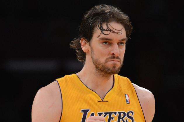 NBA Trade Scenarios: 7 Teams That Could Come Calling for Pau Gasol