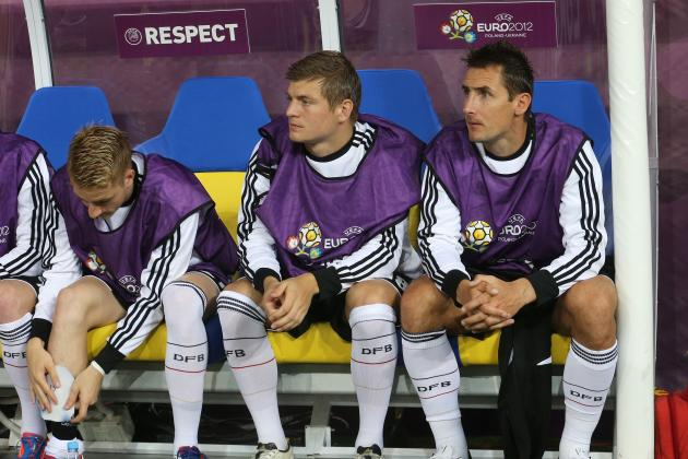 Germany vs. Italy Euro 2012: Bench Players Who Should Be Starters in Semifinal