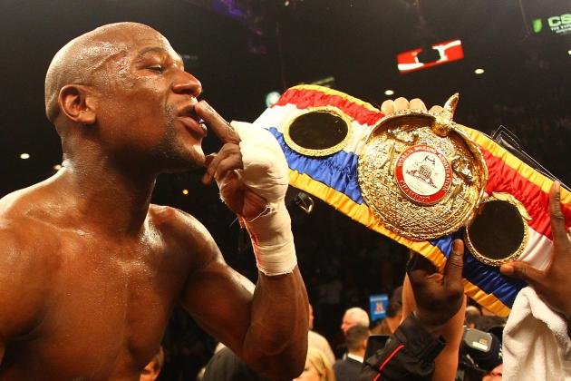 Floyd Mayweather Jr. and the Eight Old School Champions of Boxing