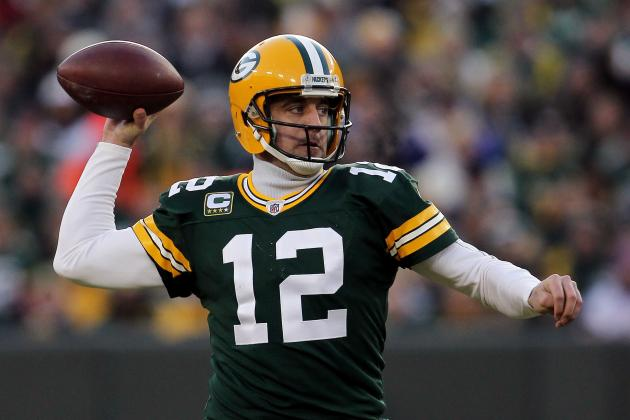 Ranking Aaron Rodgers and the NFC's Best Quarterbacks