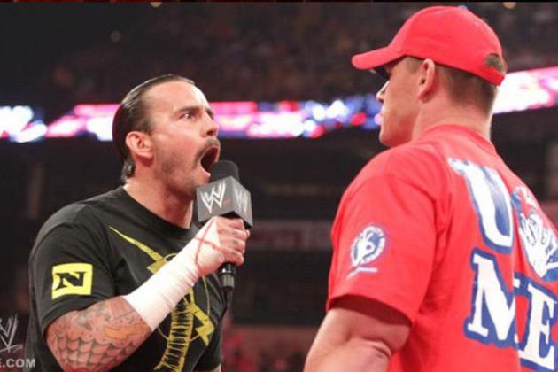 WWE SummerSlam: Assessing the John Cena vs. CM Punk Rumors