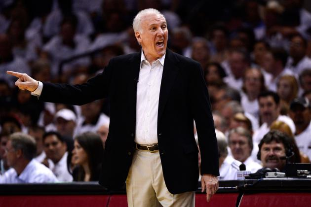 San Antonio Spurs: 5 Adjustments Gregg Popovich Needs to Make for 2012-13