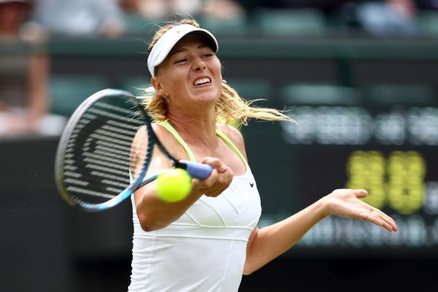Maria Sharapova: Previewing Her Potential Wimbledon Foes