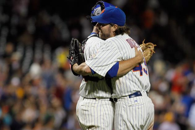 RA Dickey: Where His 2012 Season Ranks in New York Mets History