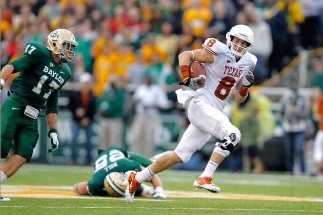 Texas Football: What You Need to Know About Longhorns WR Jaxon Shipley