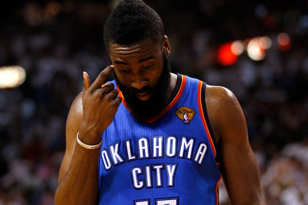 NBA Rumors: 7 Teams Who Should Try and Pry James Harden Away from Thunder