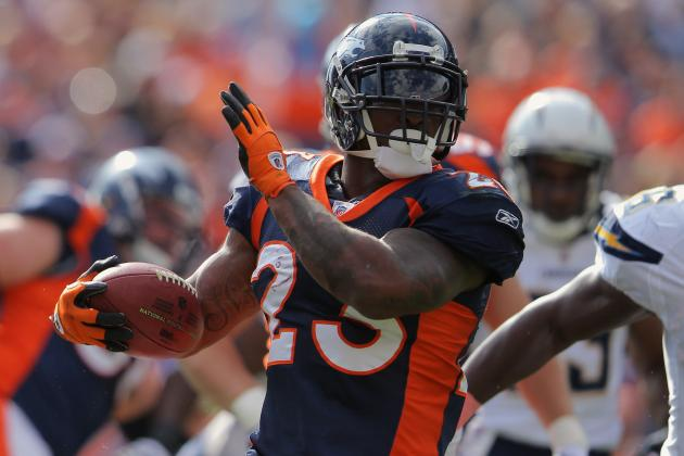 Denver Broncos: Stat Predictions for Every Broncos RB in 2012