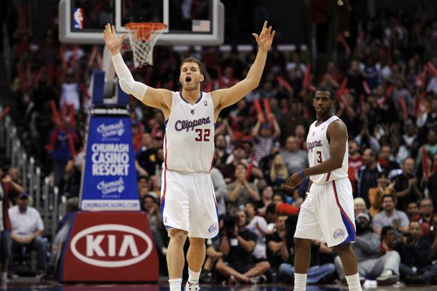 Chris Paul-Blake Griffin and the Most Dynamic 1-2 Alley-Oop Combos in the NBA