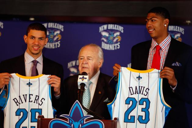New Orleans Hornets and Teams That Did Most to Win in 2012 During NBA Draft