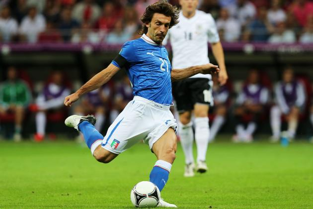 Spain vs. Italy: Andrea Pirlo and Players Who Will Lead Italy to Glory
