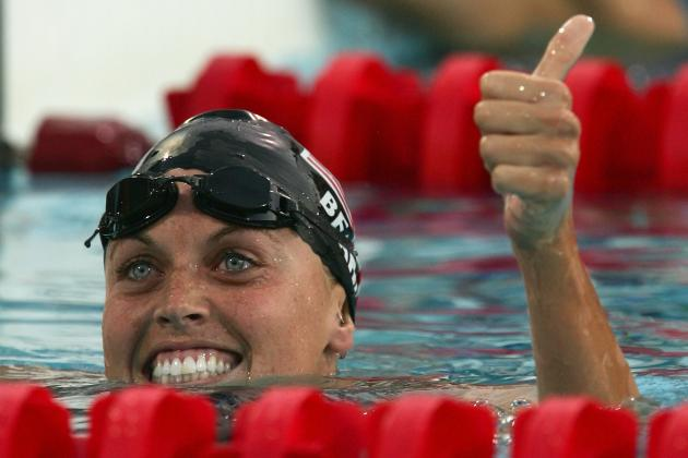 Ranking Amanda Beard's Greatest Olympic Swimming Moments