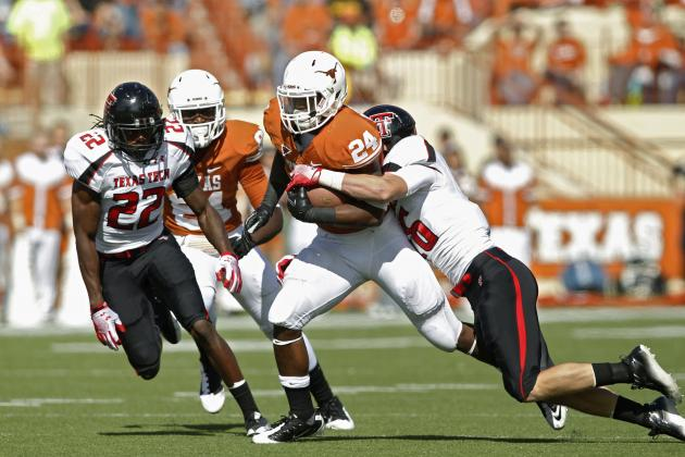 Texas Longhorns: Why Horns Rushing Attack Will Scare Opponents in 2012