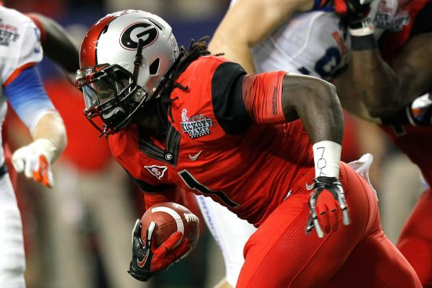 College Football: Georgia Bulldogs and 5 Other Programs Due for a 2012 Letdown