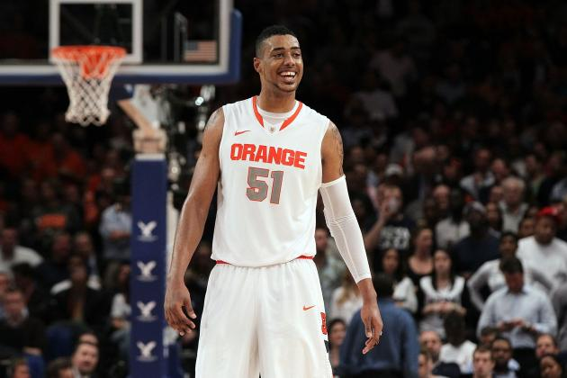 NBA Draft 2012: Fab Melo Will Have Biggest Rookie Impact in Atlantic Division