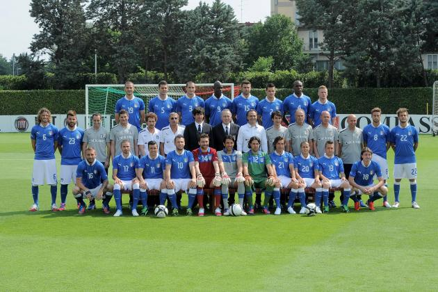 Power Ranking the Italy Players at Euro 2012