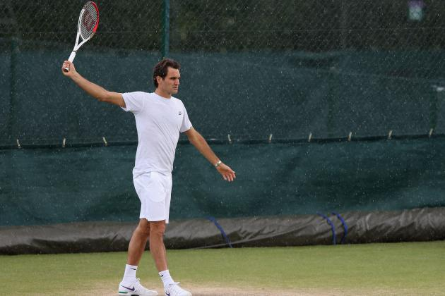 Roger Federer: Grading His Week 1 Wimbledon 2012 Performance