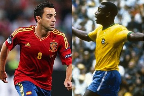 Spain's Euro 2012 Winners vs. Brazil's 1970 World Cup Winners: Head-to-Head