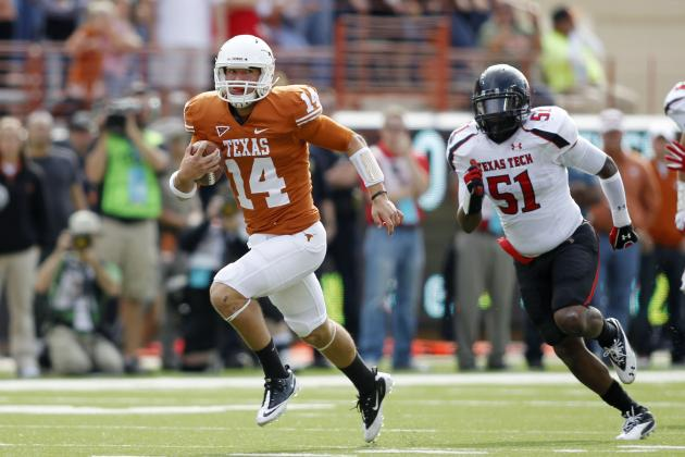 Texas Football 2012: 7 Things That Will Be Different from Last Year