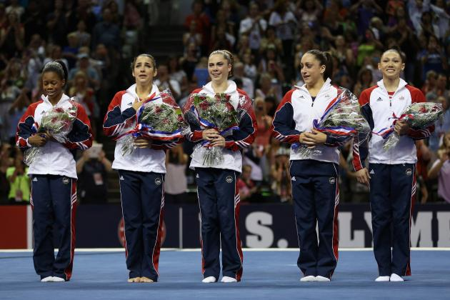 US Olympic Gymnastics Team 2012: How Does USA Match Up with Russia & Romania?