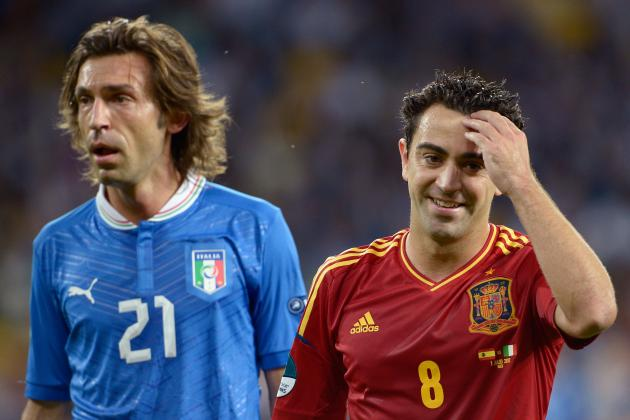 Power Ranking the Best Midfielders at Euro 2012