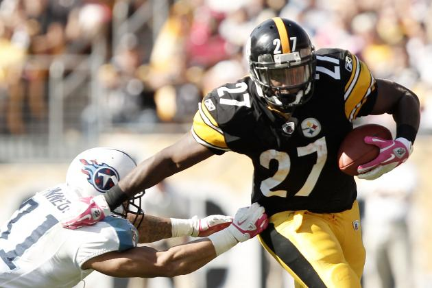 Pittsburgh Steelers: Who Should Get Goal-Line Carries in 2012?