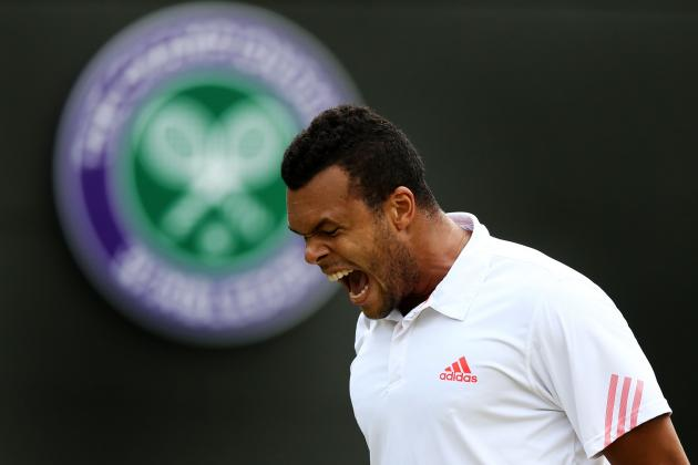 Wimbledon 2012: 5 Reasons Jo-Wilfried Tsonga Will Win It All