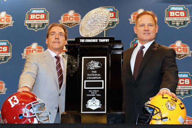 Preseason College Football Rankings: Coaches of the SEC West