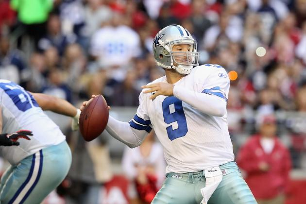 Fantasy Football 2012: Why You Must Reach for Cowboys QB Tony Romo