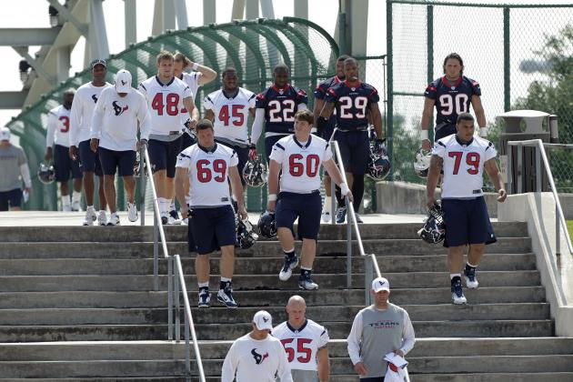 Houston Texans 2012: 10 Most Overpaid & Underpaid Players