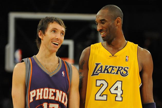 Steve Nash, Kobe Bryant and the 10 Best Backcourts in the NBA